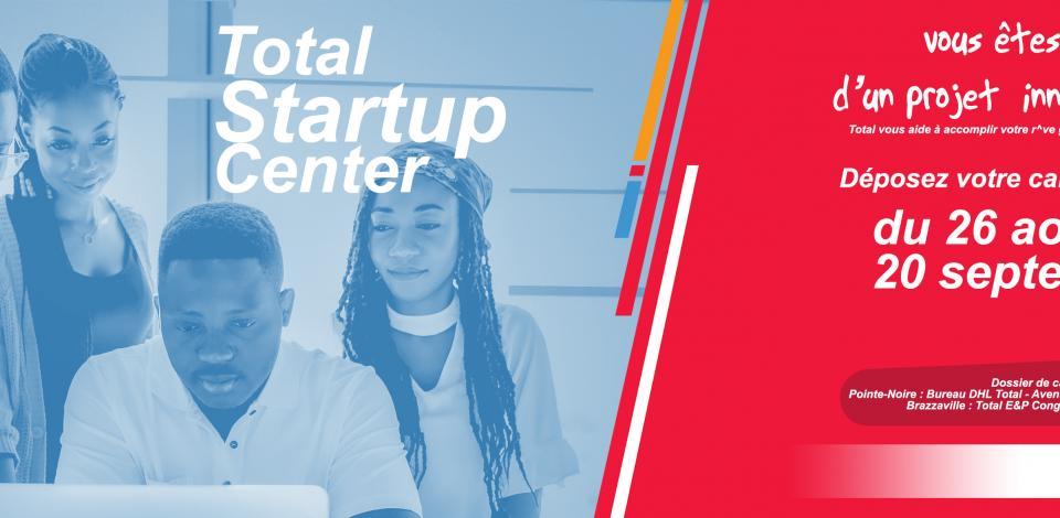 Total Startup Center est un incubateur de projets lançé par TotalEnergies Congo.