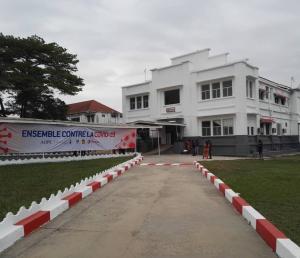 Hôpital Adolphe Sicé réhabilité par l'AOPC